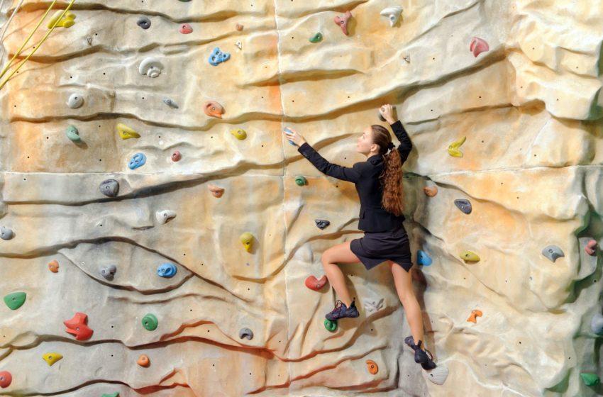 Kletterwand Bouldern
