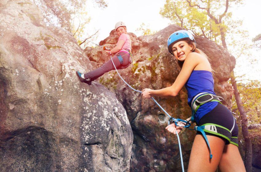 Klettern für Anfänger
