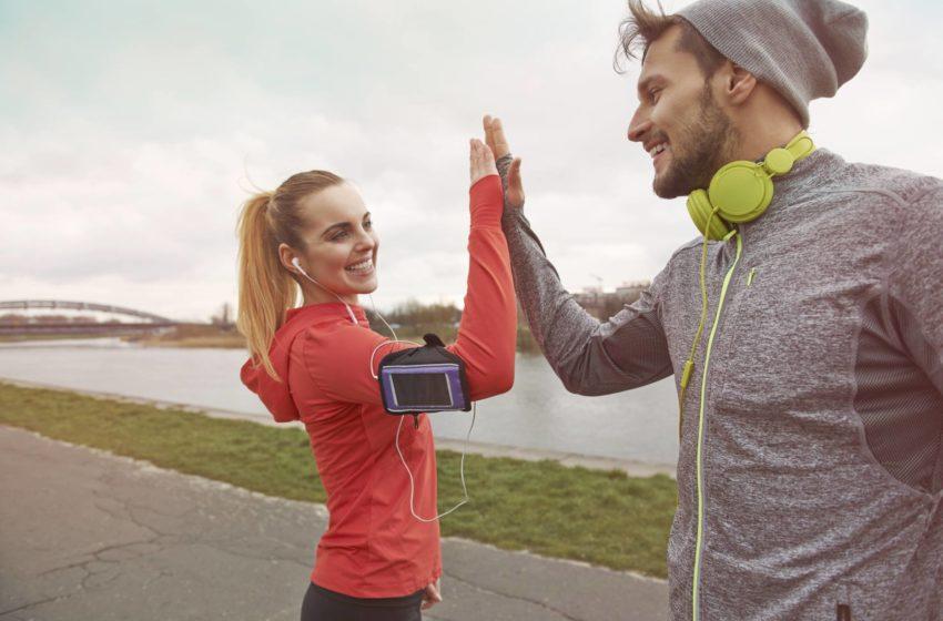 Mit Lauf App joggen