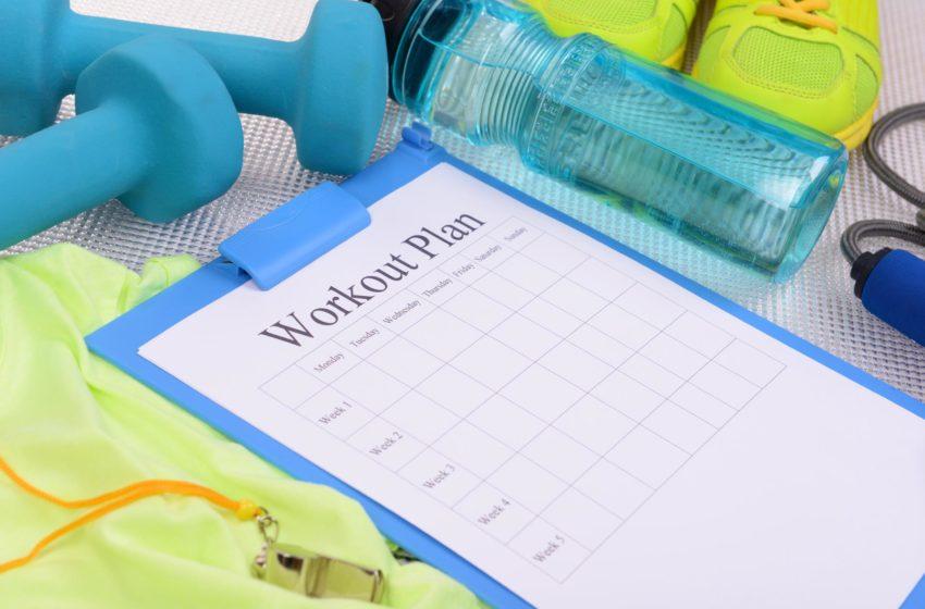 Mit Trainingsplan trainieren