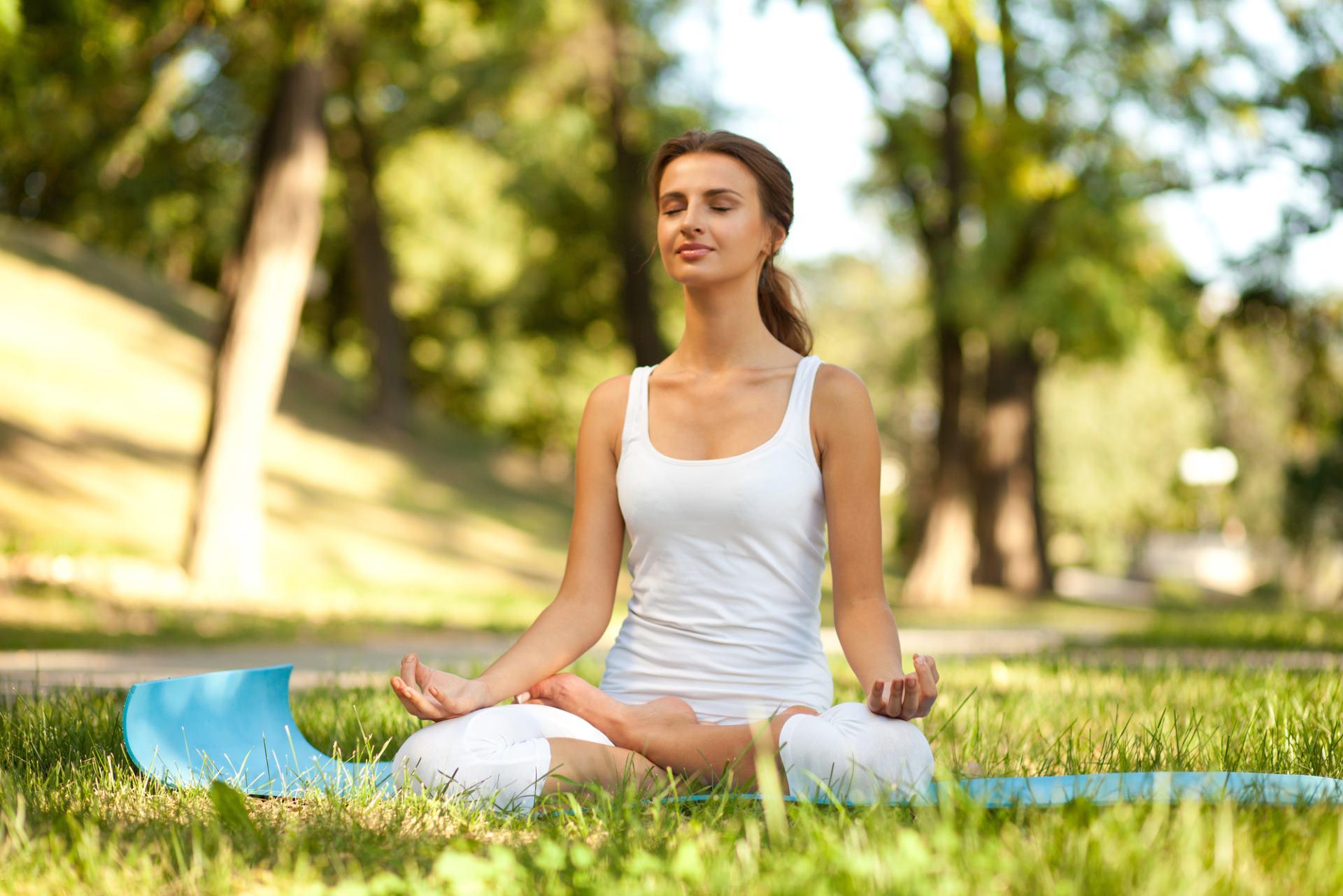 Yoga Übungen zuhause