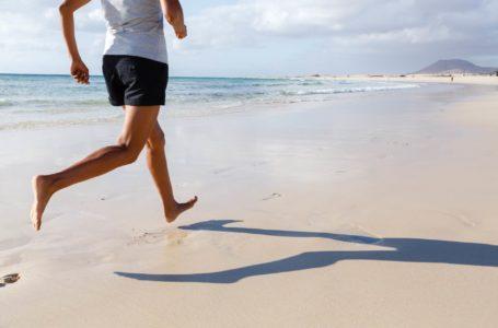Laufen barfuß ist gesund