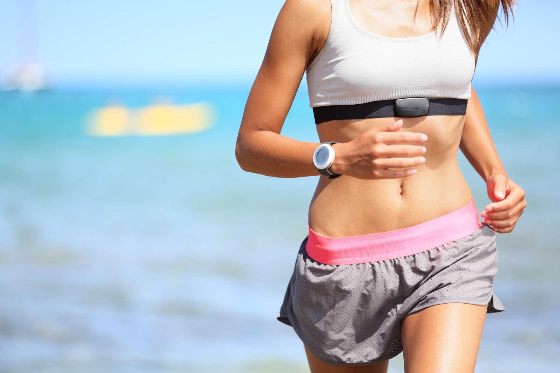 Herzfrequenz für ein optimales Training