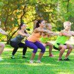 Fitnessübung Squats