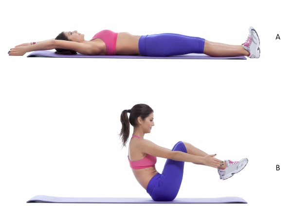 Bauchmuskeltraining Rudern