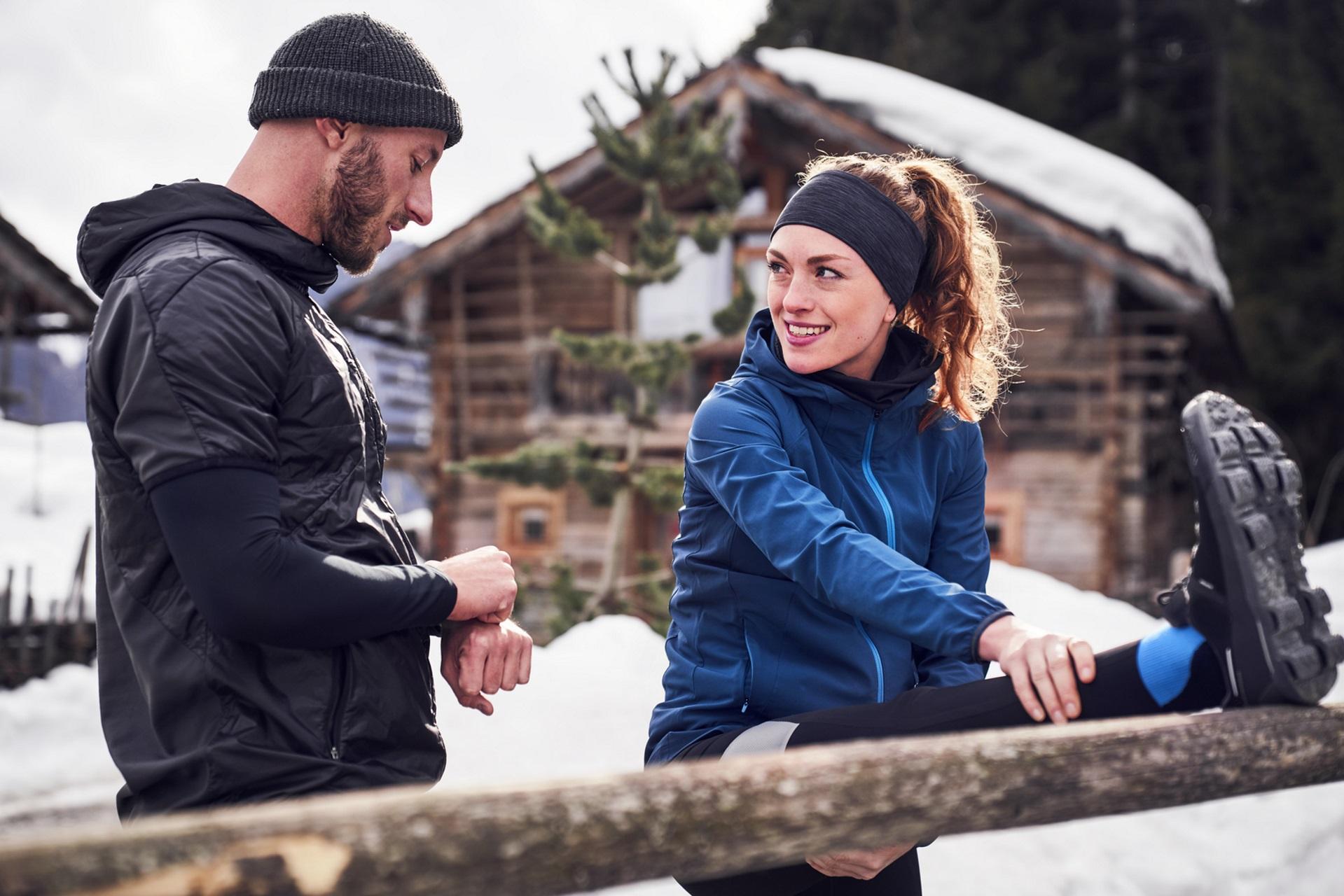Sport im Winter: Mit diesen Sportarten bleibst du trotz Kälte fit