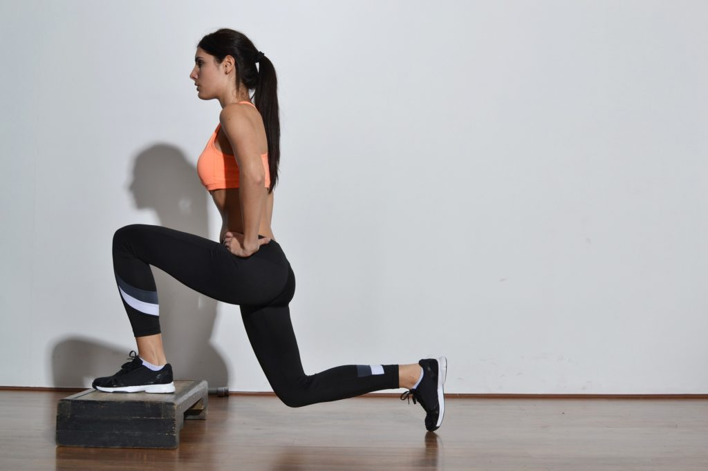 Step Ups, Treppensteigen, Booty Workout