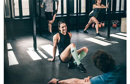 Fitness-Seilspringen