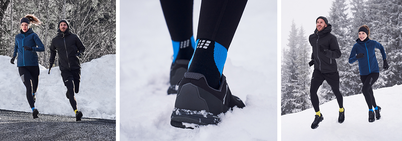 Winter Run Socks