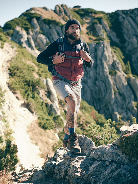 CEP Outdoor | Hiking with compression