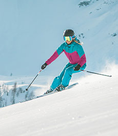 Frauen-Highlights-Wintersport